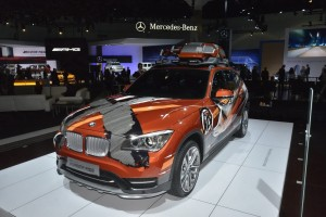 В Детройте покажут рестайлинговый BMW X1