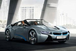 BMW выпустит спортгибрид i8 без крыши