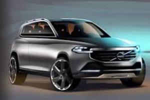 Внедорожник XC Coupe Volvo представит в Детройте