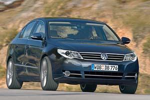 Новый Volkswagen Passat засняли во время тестов
