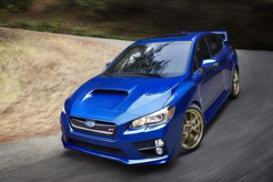 Презентация новой Subaru WRX STI