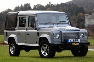 Британцы построили самый роскошный Land Rover Defender