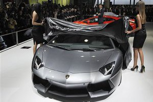 новый элитный спорткар от lamborghini