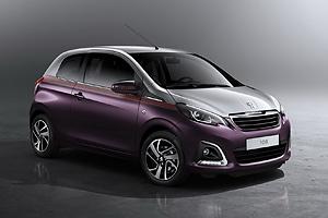 Peugeot представил новинку - модель 108