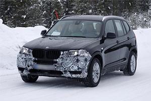Обновленный кросссовер BMW Х3