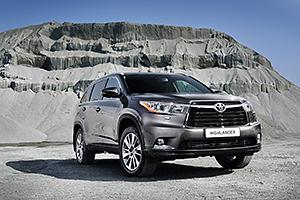 Американские Toyota Highlander начали поставлять в Россию