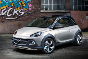 Opel презентовал кроссовер Adam Rocks