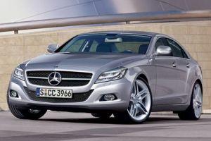 Mercedes-Benz CLS - рестайлинг классики