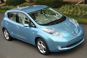 Европейцев покорил электромобиль Nissan Leaf