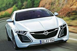 Opel готовит кроссовер на основе концепта Monza