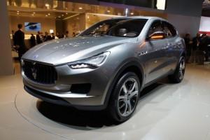 Maserati отложил выпуск внедорожника