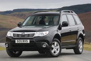 Какова стоимость модели Subaru Forester?