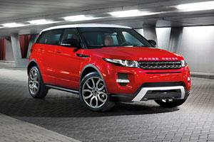 Новые комплектации Range Rover Evoque