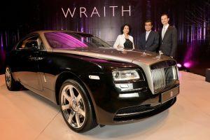 Новый Rolls-Royce Wraith будет в Женеве