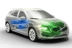 Volvo придала спортивности гибриду V60