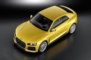 Audi показала изображения концепт-кара Q4