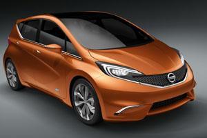 Nissan показал фото нового хетчбэка
