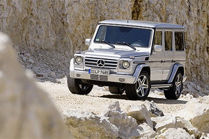 Mercedes-Benz Gelandewagen стал эксклюзивом