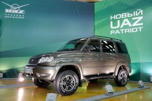 UAZ обновил внедорожник Patriot