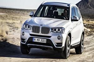 В 2017 году BMW выпустит новые модификации X3