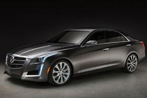 «Кадиллак» показал новый седан CTS