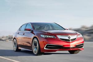 Известна стоимость седана Acura TLX