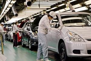 Производство Toyota в РФ снизилось