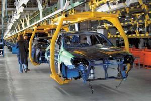 Производство автомобилей в Украине сократилось