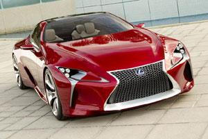 Четырёхместное купе Lexus LF-LC
