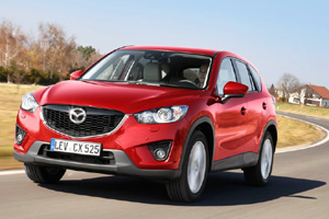Обновления модели Mazda CX-5