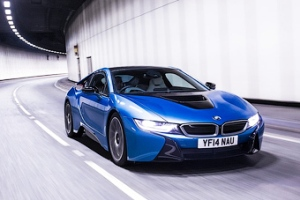 Спецверсия гибридного BMW i8