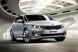 Седан Kia Optima превратится в T-Hybrid