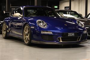 Тестирование нового Porsche 911 GTS3 RS