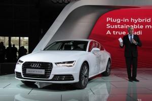 Немцы показали Audi А7 Sportback h-tron quattro