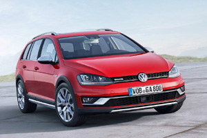 Новый кроссовер Volkswagen Golf