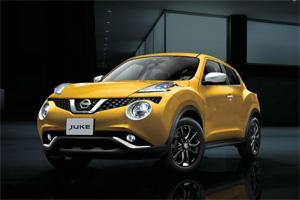 Обновленная версия Nissan Juke