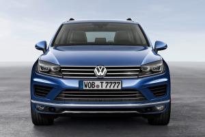 VW довез до России обновленный Touareg
