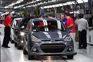 Hyundai построит заводы в Китае