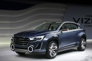 Subaru показала концепт VIZIV 2