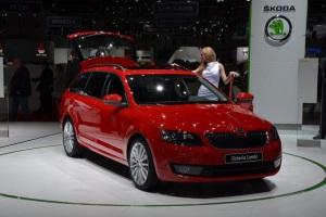 Shkoda представила автомобили в Женеве