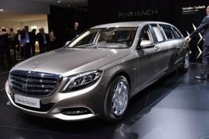 В Женеве представили Mercedes Pullman