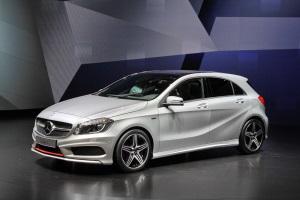 Mercedes A-Class прошел дорожные испытания