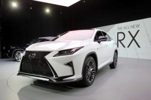 Lexus представил новую модель RX