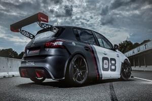 Peugeot 308 зарядили до версии Racing Cup!