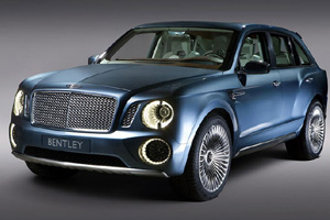 Bentley рекламирует свой новый кроссовер