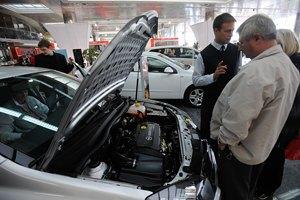 В России падает производство автомобилей