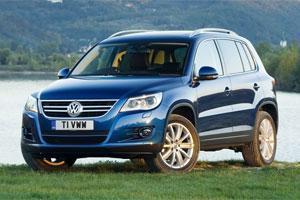 Volkswagen Tiguan выйдет из сумрака
