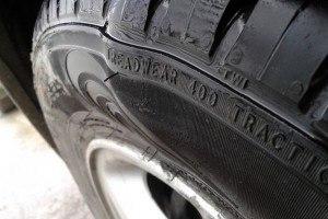 Если у вас в дороге лопнула шина