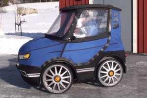 В Швеции изобрели велоавтомобиль